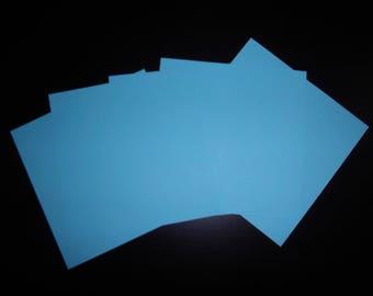 5 paper origami Blue 12 x 12 cm