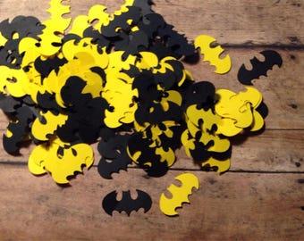 Batman Confetti Barman Party Decor Batman Birthday