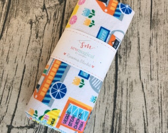 Swaddling Blanket / Receiving Blanket / Taco Tuesday / Taco Truck / Baby Blanket / Baby Shower Gift / Baby Swaddle / Baby Gift / Swaddler