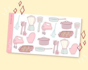 Kitchen-002   Planner Stickers