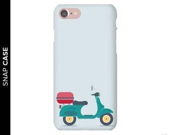 Vespa Phone Case, Scooter Phone Case, iPhone 7 Vespa Case, Scooter iPhone Case, Samsung Phone Case, Samsung Case, Vespa Case, Scooter Case