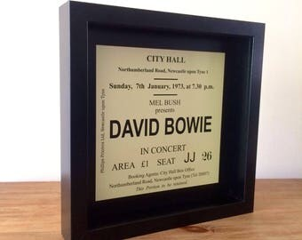 Framed Prints - Classic Concert Tickets, Newcastle City Hall