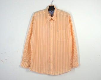 Tommy Hilfiger Shirt Tommy Hilfiger Stripes Shirt Made In China Men's Size M