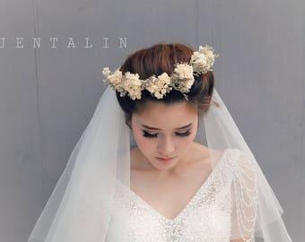 Alencon lace veil, lace veil, Bridal veil, Wedding veil, flower crown veil