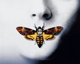Back to School Sale: The SILENCE Of The LAMBS Movie Poster RARE Hannibal Lecter Anthony Hopkins