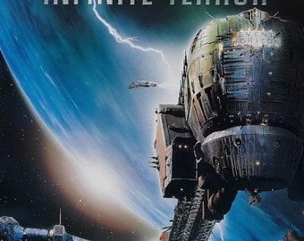 SPRING SALE: EVENT Horizon Movie Poster 1997 Sam Neill Sci-Fi Horror