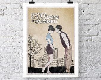 500 Days of Summer Print Wall Art
