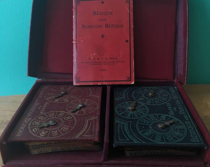 Bezique & Rubicon Bezique Card Game 1933