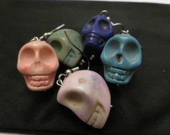 Assorted Skull Earrings