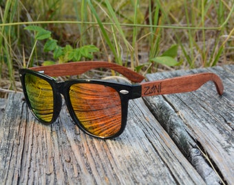 Personalized Wooden Sunglasses. Rose Wood. Polarized Wooden Sunglasses. Mens Sunglasses. Womens Sunglasses