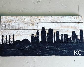 Kansas City Skyline/Customized Skyline