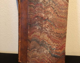 The Pirate, 1863, Hardcover Book, Good Vintage Condition, Antique Book, Sir Walter Scott Bart, Rare Book