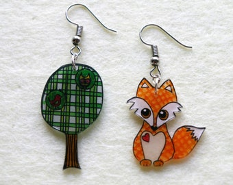 earrings... take a walk in the Woods!