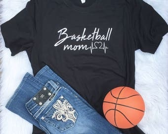 Personalized Basketball Shirt, School Spirit Shirt, Basketball Mom, Shirt, Basketball Wife, Game Day Shirt, High School, Sports Mom Shirt