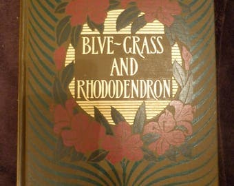 Blue-Grass and Rhododendron John Fox Jr. First Edition 1901 HC KENTUCKY Stories VG condition Margaret Armstrong Cover Design