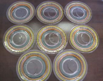 Vintage drip saucers / Vintage tropfende Untertassen