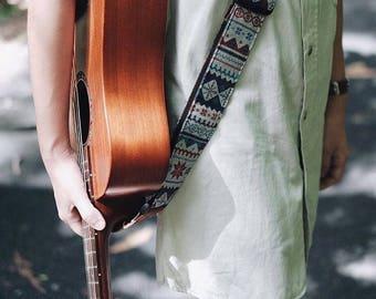 Blue Himalaya Guitar Strap