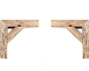 Corbels, Wood Corbels, Decorative Corbels, Corbel, Rustic Corbels (Set of 2)