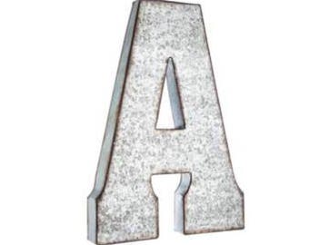 Large Metal Alphabet Letters Fair Metal Letters  Etsy Design Inspiration