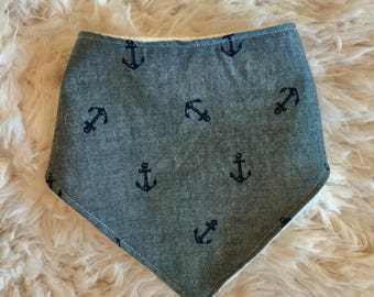 Dribble Bib - anchors