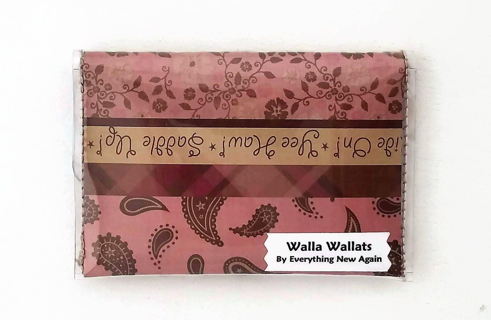 Cowgirl Wallet, Cash/Card Vinyl, Country Western Walla Wallat ...