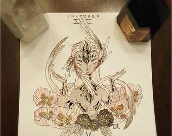 2016 Inktober [ZODIAC ORIGINAL] - XXXI Pisces