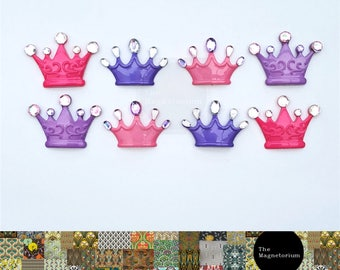 Princess Crown Fridge Magnet Set