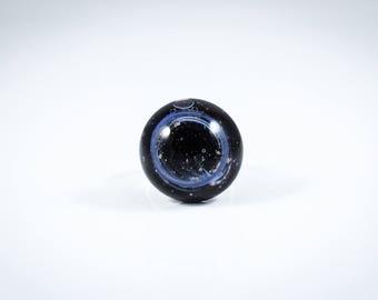 Galactic ring Murano glass