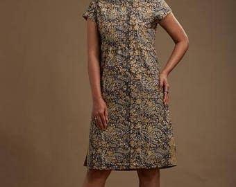 Kabira Pintucked Dress
