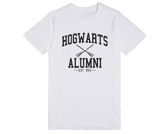 Hogwart T- Shirt ( For You )Size xs,s,m,l,xl,xxl