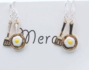 Le Cuisinier Earrings - Cute & Funky // Statement Accessories // Cool Jewelries