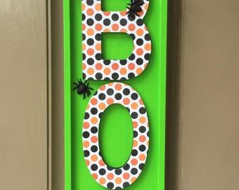 Halloween Door Hanger, BOO Door Hanger, Halloween Decor, Halloween Decoration, Door Decor, Wreaths, Trick or Treat
