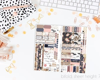 Sweater Weather TN STANDARD Weekly Kit // 120+ Matte Planner Stickers // Perfect for your Standard Size Traveler's Notebook // TNS0780