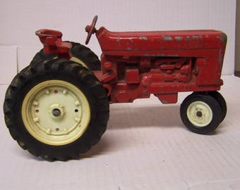 Eril Co. Cast Metal Toy Tractor, 1950's Farm Toy