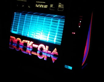 Rockola Jukebox Bluetooth FM Radio music player