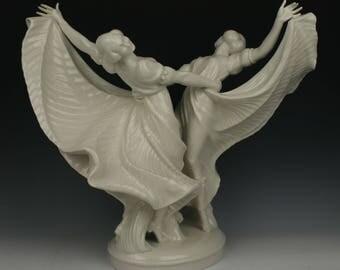 """Schwarzburger Gustav Oppel Figurine """"Tanzrausch"""""""