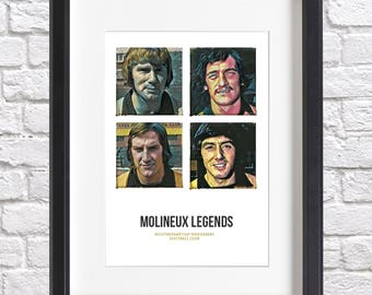 Limited Edition 'Wolves Legends' Acrylic Print - Sparkius