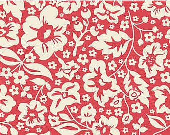 Riley Blake Sweetest Thing Red - 1 yard