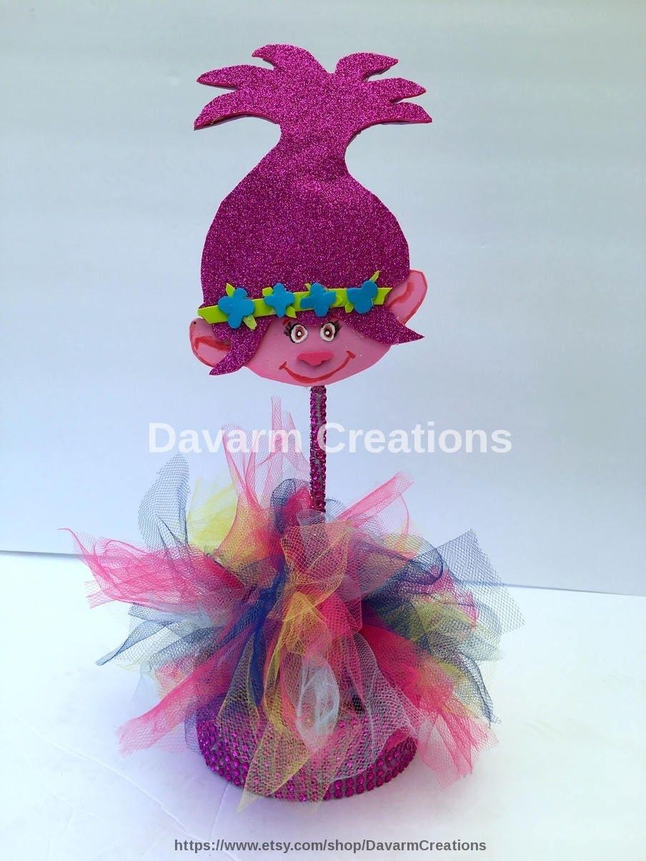 Princesspoppy centerpiece candy holderpoppy troll