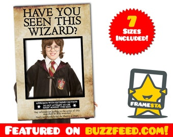 Have You Seen This Wizard Photo Booth  Prop (Digital File Only) Harry Potter Decorations