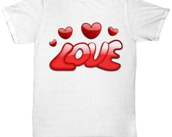 Custom Love Heart Tee