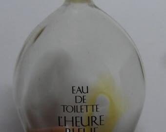 Rare LARGE vintage 250ml Guerlain 'Heure Bleue flacon 'goutte'