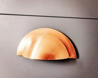 copper knobs and pulls. copper cup handle drawer pull knobs pulls cabinet hardware kitchen cupboard rose gold and