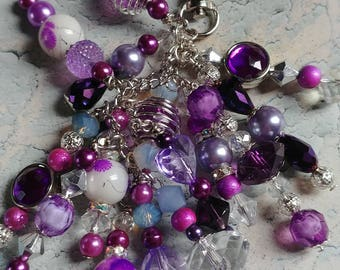 Purple Cluster Planner/Key Charm