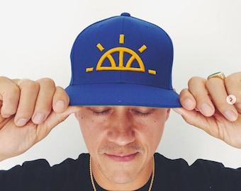 Golden Sunrise Snapback Hoop Life | Basketball Apparel | Hats | Warriors