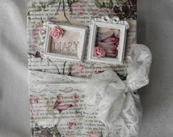 Junk Journal vintage roses
