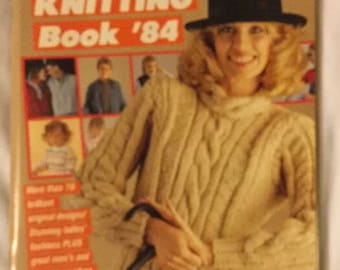 Woman's day family knitting book 84
