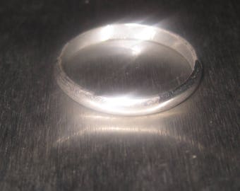 18k Gold Filled sterling Silver Band