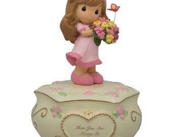 """5.5"""" """"Mom You Are Always in My Heart"""" Mother's Day Musical Box"""
