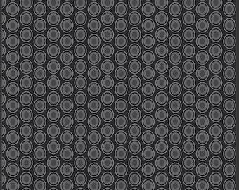 Oval Elements - Licorice - 100% Premium Cotton (Art Gallery Fabrics OE-930)